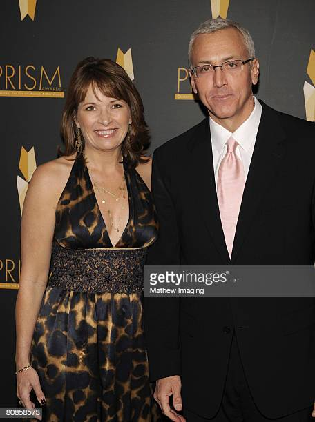 Dr Drew Pinsky and his wife Susan Pinsky arrive at The 12th Annual PRISM Awards on April 24 2008 at The Beverly Hills Hotel in Beverly Hills...