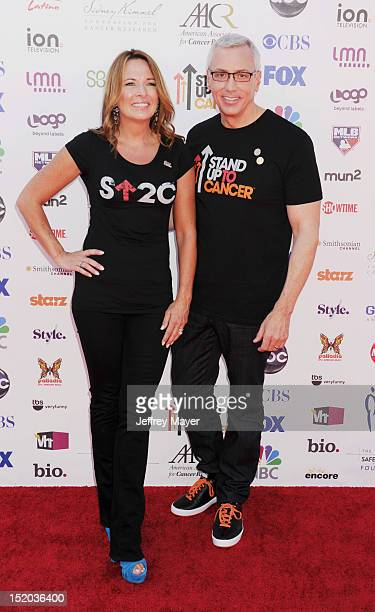 Dr Drew Pinsky and Susan Pinsky arrive at Stand Up To Cancer at The Shrine Auditorium on September 7 2012 in Los Angeles California
