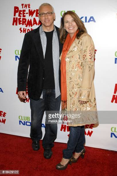Dr Drew Pinsky and Susan Pinsky attend The Pee Wee Herman Show Opening Night at Club Nokia on January 20 2010 in Los Angeles California