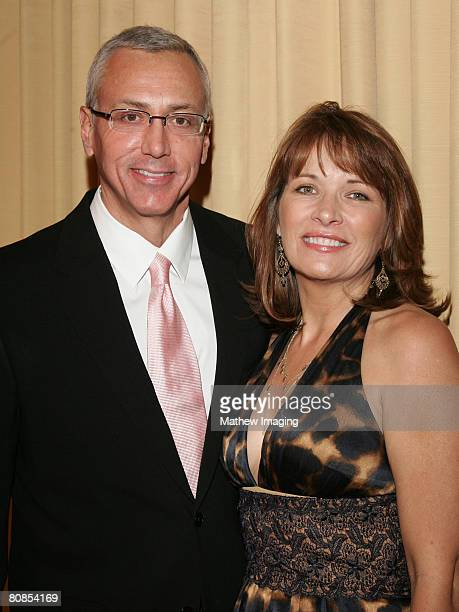 Dr Drew Pinsky and wife Susan Pinsky arrive at The 12th Annual PRISM Awards on April 24 2008 at The Beverly Hills Hotel in Beverly Hills California