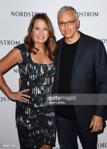 Dr Drew Pinsky and wife Susan Pinsky attend the opening gala to benefit Ascencia and Hillsides at Nordstrom at The Americana at Brand on September 17...
