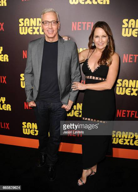 Dr Drew Pinsky and wife Susan Pinsky attend the premiere of Sandy Wexler at ArcLight Cinemas Cinerama Dome on April 6 2017 in Hollywood California