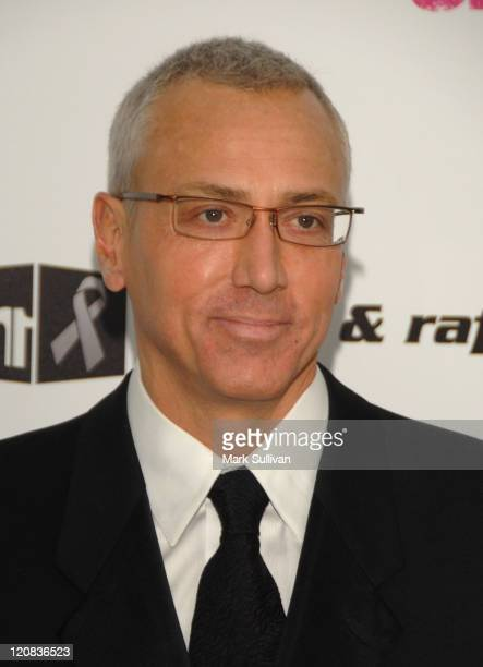 Dr Drew Pinsky arrives at the 17th Annual Elton John AIDS Foundation's Academy Award Viewing Party held at the Pacific Design Center on February 22...
