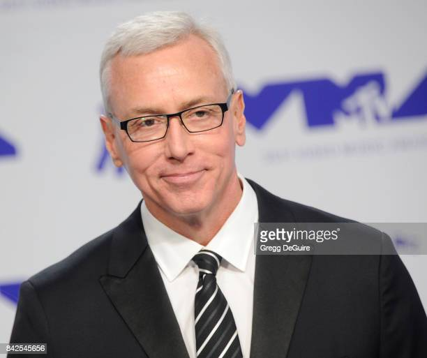 Dr Drew Pinsky arrives at the 2017 MTV Video Music Awards at The Forum on August 27 2017 in Inglewood California
