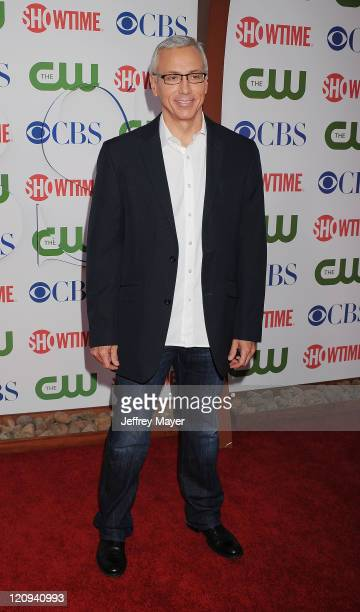 Dr Drew Pinsky arrives at the TCA Party for CBS The CW and Showtime held at The Pagoda on August 3 2011 in Beverly Hills California