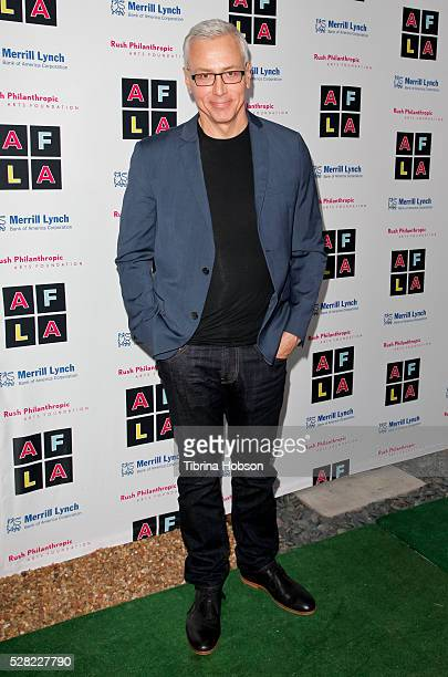 Dr Drew Pinsky attends Russell Simmons' Rush Philanthropic Arts Foundation's Inaugural Art For Life Celebration on May 3 2016 in West Hollywood...