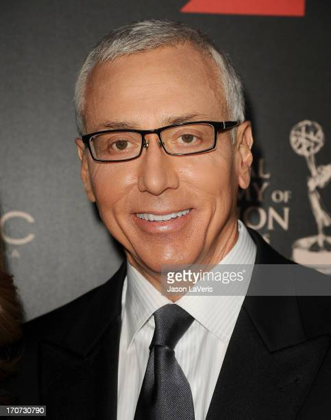 Dr Drew Pinsky attends the 40th annual Daytime Emmy Awards at The Beverly Hilton Hotel on June 16 2013 in Beverly Hills California