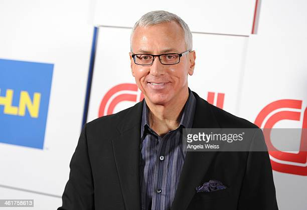 Dr Drew Pinsky attends the CNN Worldwide AllStar 2014 Winter TCA Party at Langham Hotel on January 10 2014 in Pasadena California