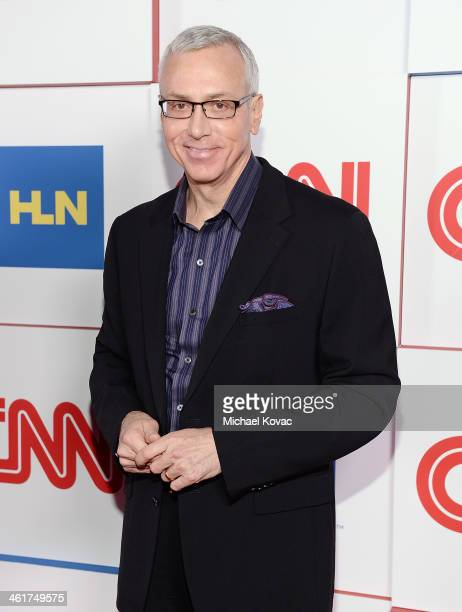 Dr Drew Pinsky attends the CNN Worldwide AllStar Party At TCA at Langham Hotel on January 10 2014 in Pasadena California