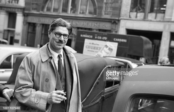 Dr Duncan Whittaker psychiatrist who is a witness at the Ruth Ellis murder trial 20th June 1955