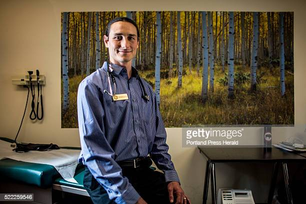 Dr Dustin Sulak in his office at Integr8 170 US Route 1 Falmouth