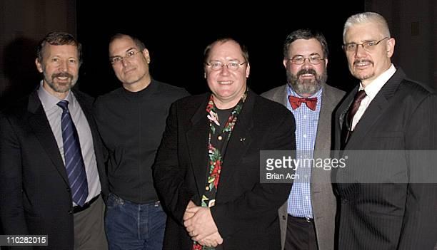 Dr Ed Catmull Steve Jobs John Lasseter Steve Higgins and Ron Magliozzi