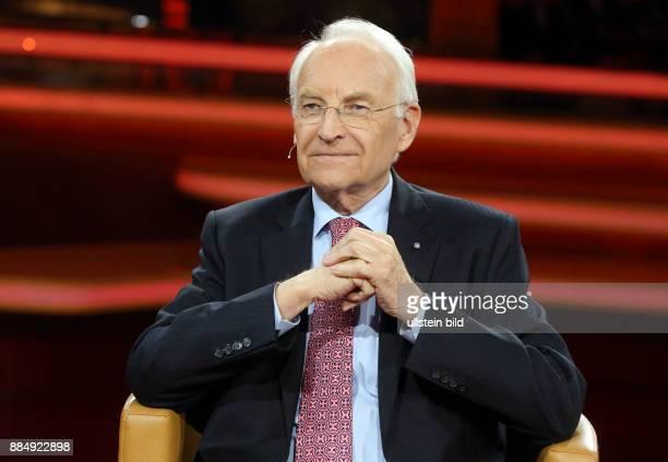 Dr Edmund Stoiber in der ARDTalkshow GÜNTHER JAUCH am in Berlin Seehofers Ultimatum Begrenzt Merkel jetzt den Flüchtlingszustrom