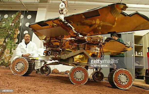Dr Edward Tunstel Jr Mars Exploration Rover lead mobility engineer explains how he and his team use a fullscale functioning model of the Mars rover...