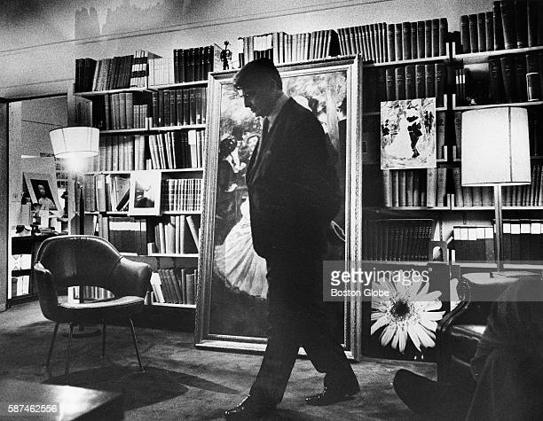 Dr Edwin H Land paces in his office in Cambridge Mass on Oct 12 1976