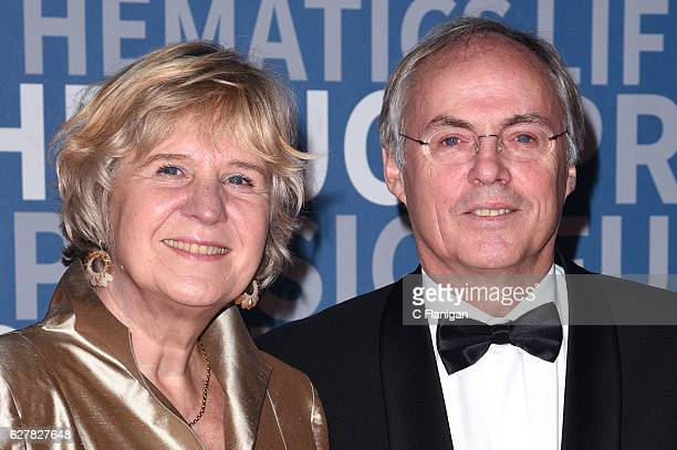 Dr Eefke Petersen and Former Laureate Dr Hans Clevers attend the 2017 Breakthrough Prize at NASA Ames Research Center on December 4 2016 in Mountain...