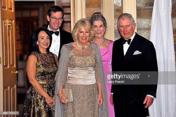 Dr Elena Allbritton Robert Allbritton Camilla Duchess of Cornwall the Duchess of Cornwall Barby Allbritton chairman of the Prince of Wales' US...