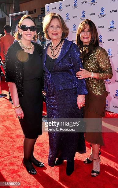 Dr Elisa Stephens Diane Baker and Sherry Baker arrive at TCM Classic Film Festival Opening Night Gala and World Premiere of An American In Paris at...