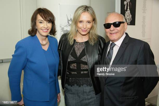 Dr Elisa Stephens President of the Academy of Art University Lubov Azria  and Max Azria attend 2c22643c4