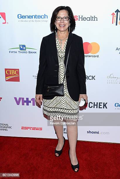 Dr Elizabeth M Jaffee of the Pancreatic Dream Team attends Hollywood Unites for the 5th Biennial Stand Up To Cancer A Program of The Entertainment...
