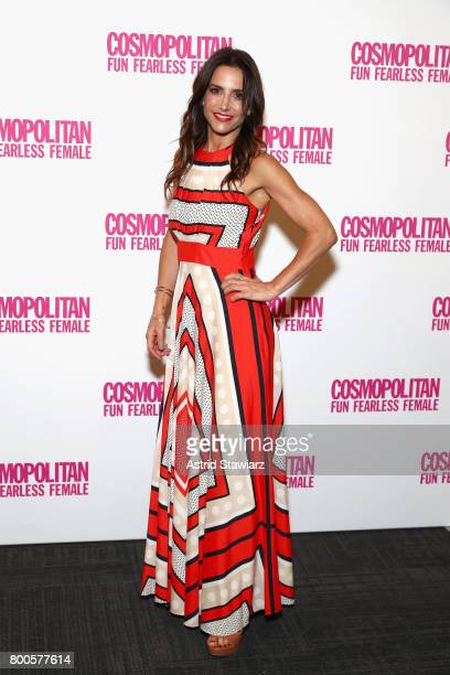 Dr Emily Morse attends the Cosmopolitan Let's Talk About It Event on June 24 2017 in New York City