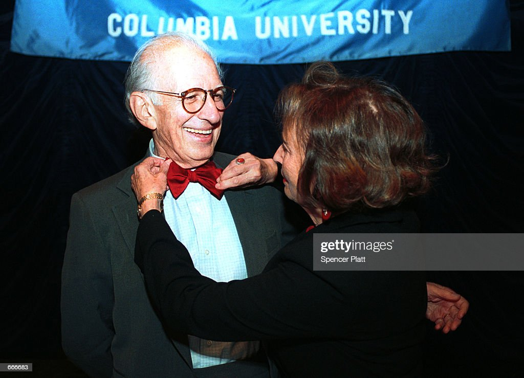 Dr  Eric Kandel, Columbia University Professor, smiles as