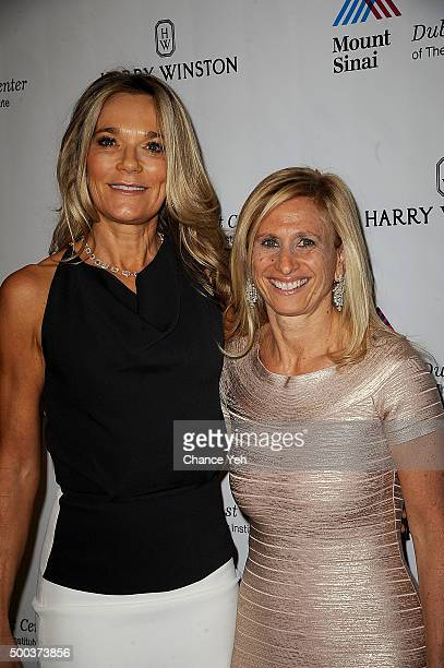 Dr Eva AnderssonDubin and Dr Elisa Port attend 5th Annual Dubin Breast Center at Mount Sinai Benefit at Mandarin Oriental Hotel on December 7 2015 in...