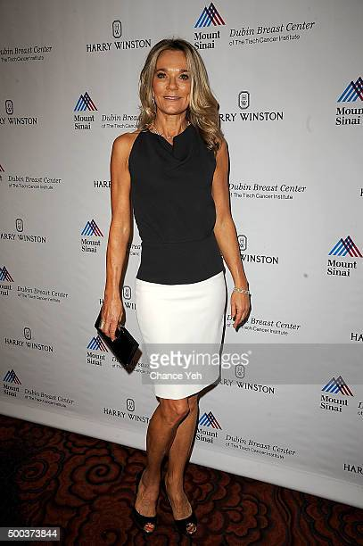 Dr Eva AnderssonDubin attends 5th Annual Dubin Breast Center at Mount Sinai Benefit at Mandarin Oriental Hotel on December 7 2015 in New York City