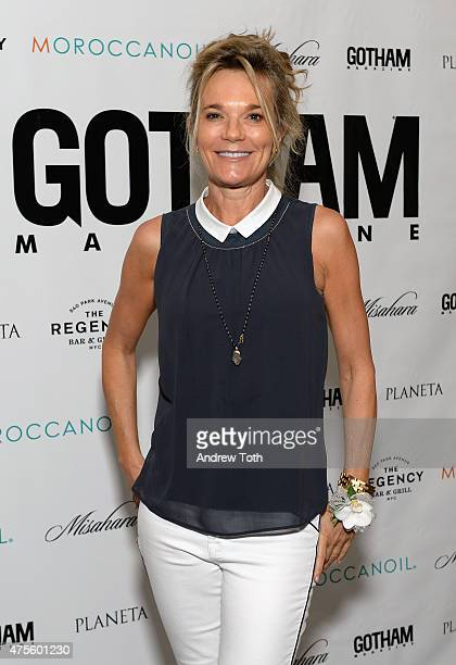 Dr Eva AnderssonDubin attends Gotham Magazine celebrates New York's Most Influential Women on June 1 2015 in New York City