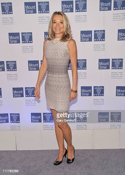 Dr Eva AnderssonDubin attends the opening of Dubin Breast Center at the Tisch Cancer Institute at Mount Sinai Hospital on April 6 2011 in New York...
