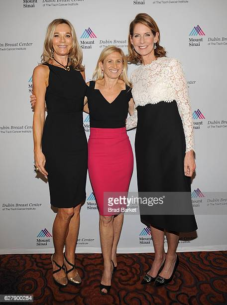 Dr Eva AnderssonDubin Dr Elisa Port and Perri Peltz attend the Mount Sinai Dubin Breast Center Gala at Mandarin Oriental New York on December 5 2016...