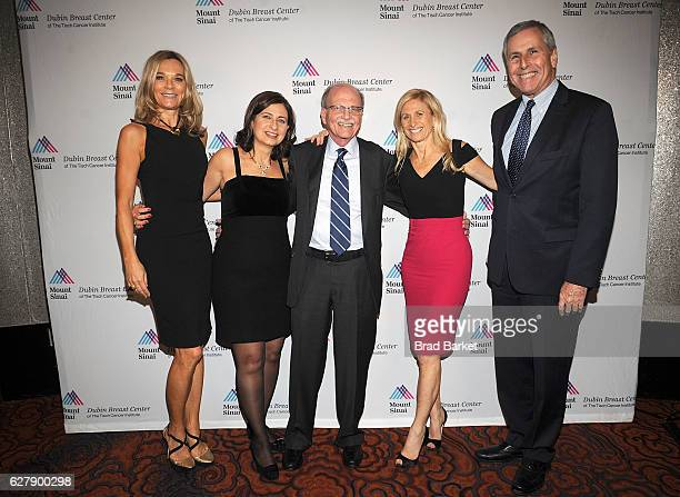 Dr Eva AnderssonDubin Dr Laurie Margolies Steven Burakoff Dr Elisa Port and Burton Drayer attend the Center Gala at Mandarin Oriental New York on...
