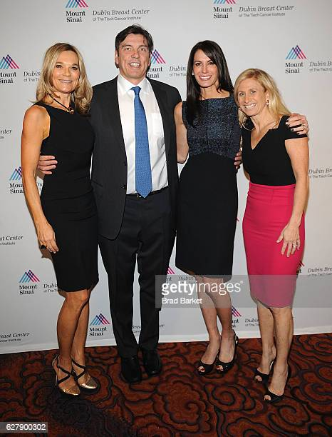 Dr Eva AnderssonDubin Dr Tim Armstrong Nancy Armstrong and Dr Elisa Port attend the Mount Sinai Dubin Breast Center Gala at Mandarin Oriental New...
