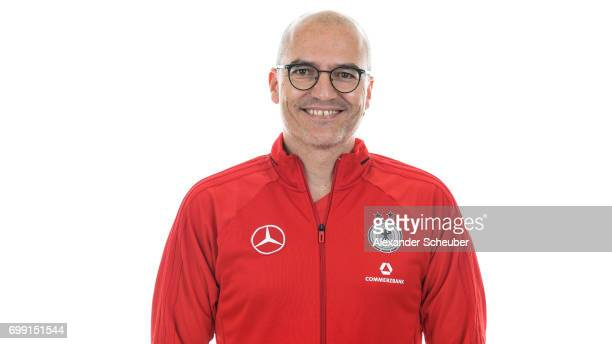 Dr Falk Schade poses during the DFB Ladies Marketing Day on June 20 2017 in Frankfurt am Main Germany