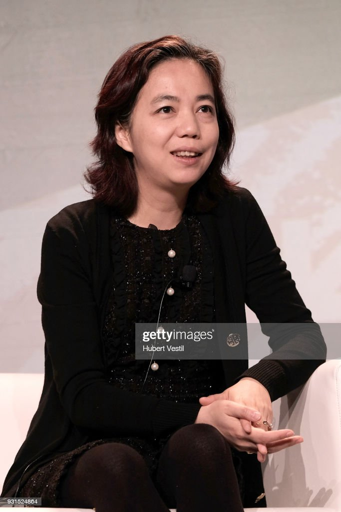Dr. Fei-Fei Li speaks onstage at Democratizing AI for Individuals & Organizations during SXSW at Austin Convention Center on March 13, 2018 in Austin, Texas.