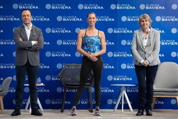 ESP: Gemma Mengual Attends 'Clinica Baviera' Photocall In Madrid