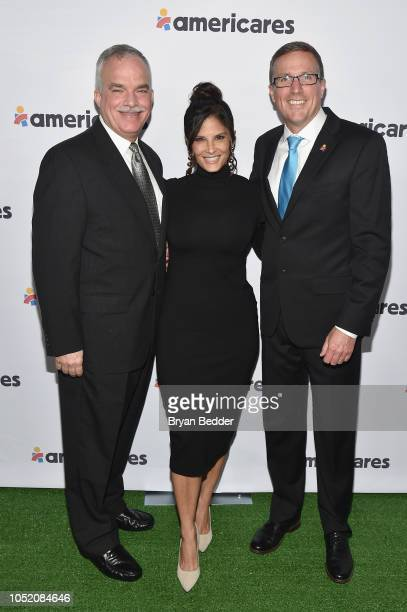 Dr Francisco Murphy Darlene Rodriguez and Michael Nyenhuis attend the 2018 Americares Airlift Benefit on October 13 2018 in White Plains New York