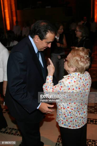Dr Frank Chervenak and Dr Ruth attend The 25th Anniversary New York Presbyterian LyingIn Hospital Fashion Show and Luncheon featuring DIOR Fall 2010...