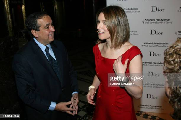 Dr Frank Chervenak and Lizzie Tisch attend The 25th Anniversary New York Presbyterian LyingIn Hospital Fashion Show and Luncheon featuring DIOR Fall...