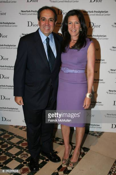 Dr Frank Chervenak and Sloan Barnett attend The 25th Anniversary New York Presbyterian LyingIn Hospital Fashion Show and Luncheon featuring DIOR Fall...