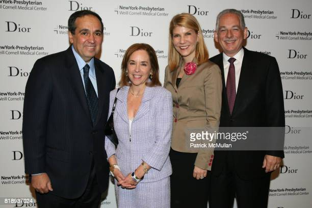 Dr Frank Chervenak and Steven Corwin attend The 25th Anniversary New York Presbyterian LyingIn Hospital Fashion Show and Luncheon featuring DIOR Fall...