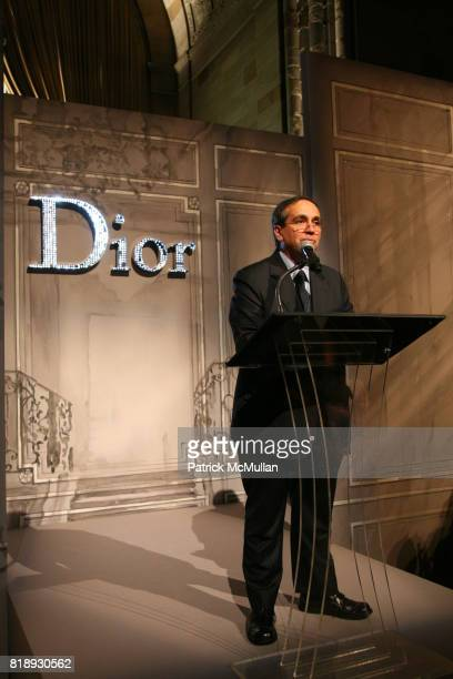 Dr Frank Chervenak attends The 25th Anniversary New York Presbyterian LyingIn Hospital Fashion Show and Luncheon featuring DIOR Fall 2010 Collection...