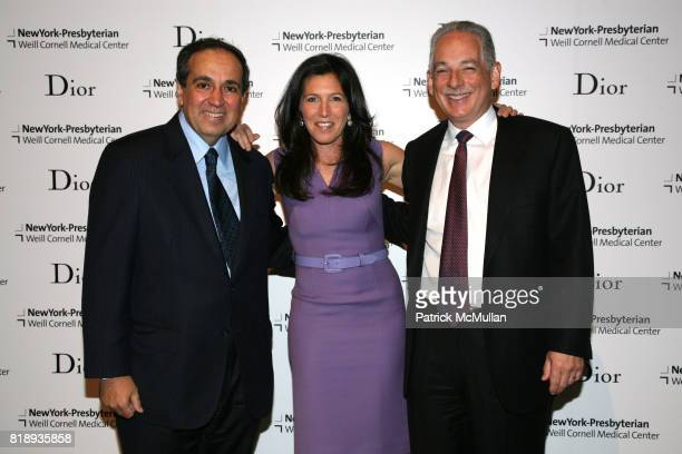 Dr Frank Chervenak Sloan Barnett and Steven Corwin attend The 25th Anniversary New York Presbyterian LyingIn Hospital Fashion Show and Luncheon...