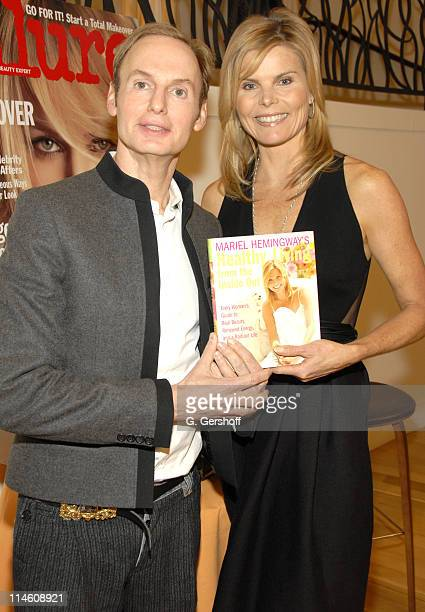 Dr Frederic Brandt and Mariel Hemingway during Mariel Hemingway and Dr Frederic Brandt Sign Copies of Her New Book Healthy Living From the Inside Out...