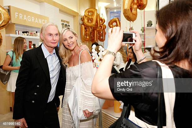Dr Fredric Brandt and Carmindy attend the opening of the Birchbox flagship store on July 10 2014 in New York City