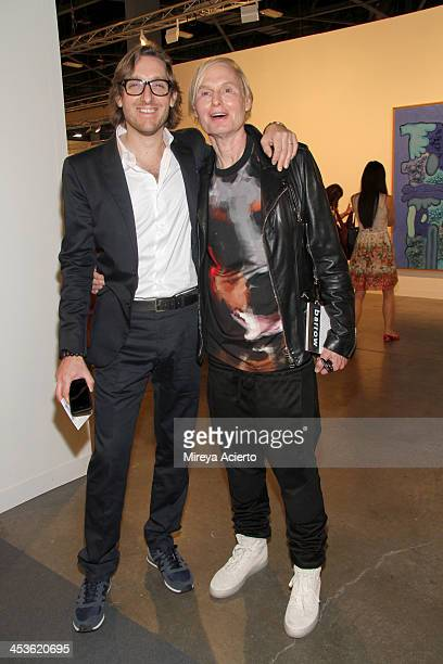 Dr Fredric Brandt attends Art Basel Miami Beach 2013 at the Miami Beach Convention Center on December 4 2013 in Miami Beach Florida