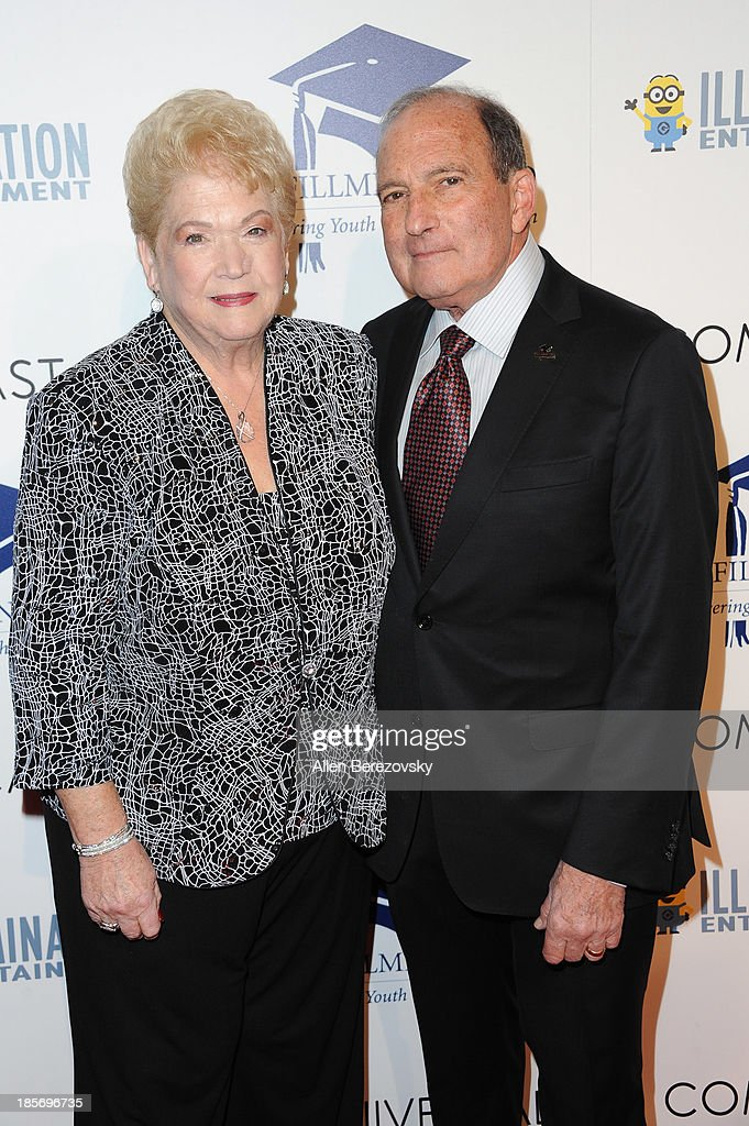 Dr. Gary Gitnick (R) and wife Cherna Gitnick attend the Fulfillment Fund Stars 2013 Benefit Gala at The Beverly Hilton Hotel on October 23, 2013 in Beverly Hills, California.