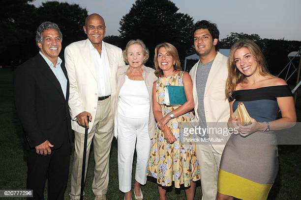 Dr Gerald Curatola Harry Belafonte Ethel Kennedy Georgia Curatola Grant Curatola and Gia Curatola attend SUMMER SOIREE CELEBRATING THE 40TH...