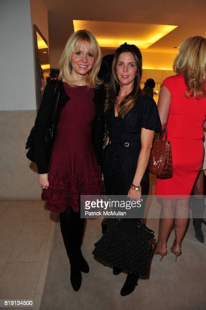 Dr Gervaise Gerstner and Emilia Fanjul Pfeifler attend VALENTINO Spring/ Summer 2010 Collection Private Luncheon and Presentation hosted by Samantha...