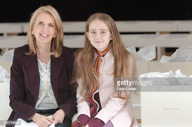 Dr Gillian McKeith and Daughter during London Fashion Week Autumn/Winter 2006 Ronit Zilkha Front Row and Backstage at Royal Academy of Arts in London...